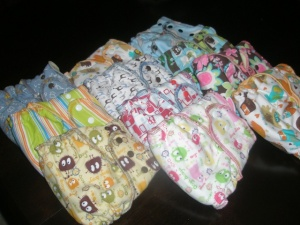 Nifty Nappy Fitted Cloth Diapers