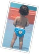 Swim Diaper - Puffy Blowfish