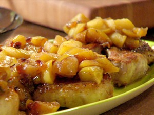 Baby Food Pork Chops with Applesauce