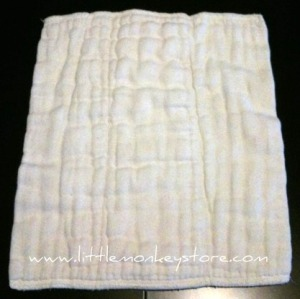 Organic Cotton Prefold Cloth Diaper