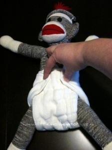 Prefold Cloth Diaper Canada