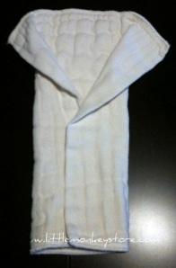 Prefold Cloth Diaper Fan Fold