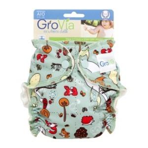 GroVia cloth diaper Woodland