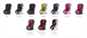 all foonf seats colors
